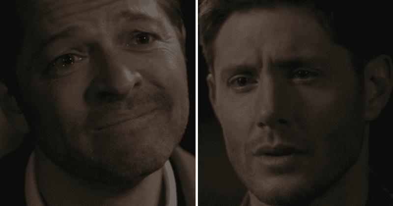 'Supernatural' 15. sezonas 18. sērija: Vai 'Destiel' tikko kļuva par kanonu? Ventilatori brīnās, 'kāpēc viņi nevarētu vienkārši skūpstīties'
