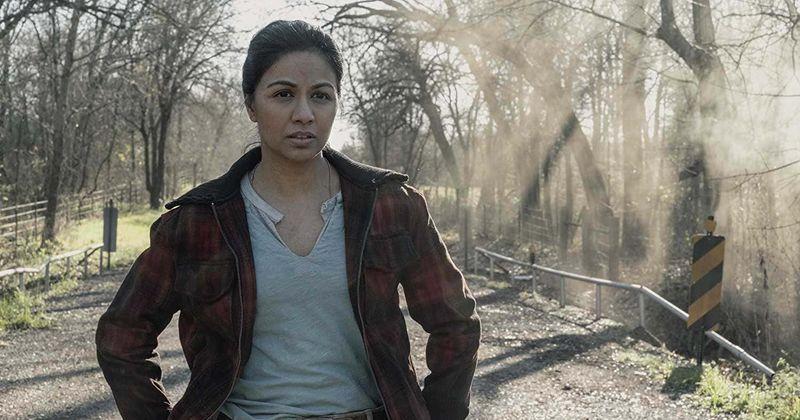 A estrela de 'Fear the Walking Dead', Karen David, revela como a série da HBO 'Chernobyl' a ajudou a interpretar Grace