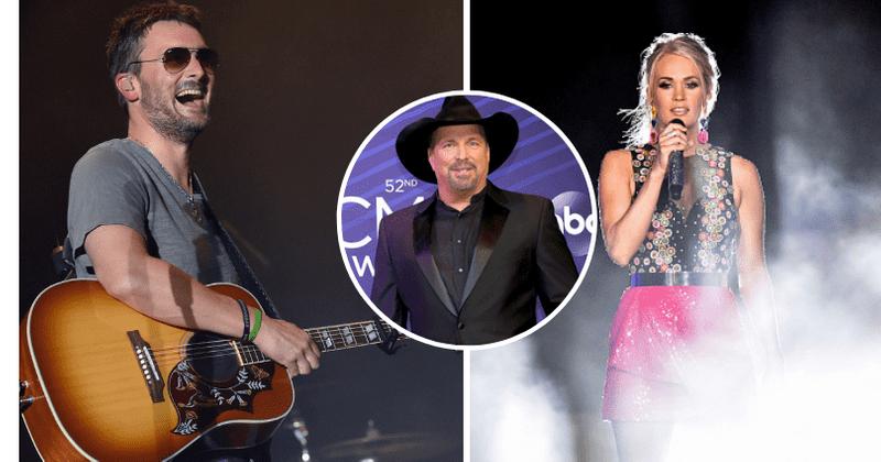 CMA Awards 2019: Fãs de Eric Church e Carrie Underwood furiosos depois que Garth Brooks vence o Artista do Ano