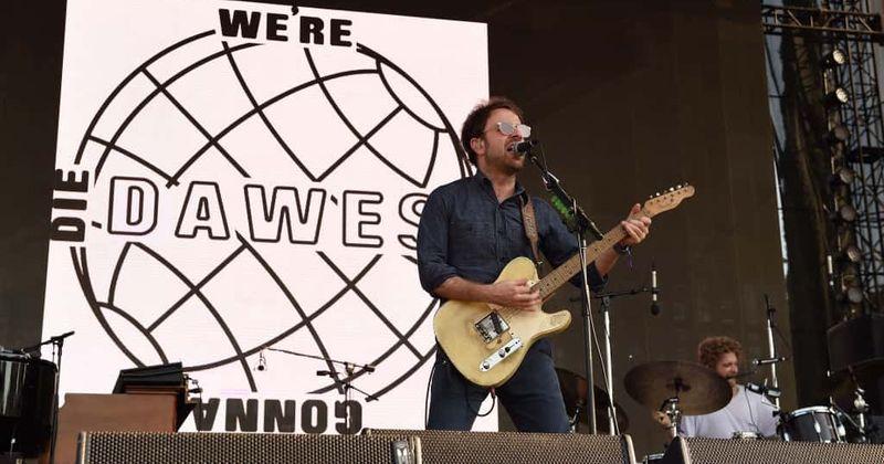 Dawes cantou duas novas canções de 'Passwords' no Kimmel