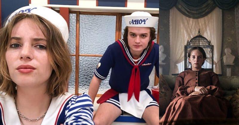 Antevisão da terceira temporada de 'Stranger Things': Maya Thurman-Hawke preparada para entrar em Hawkins como Robin