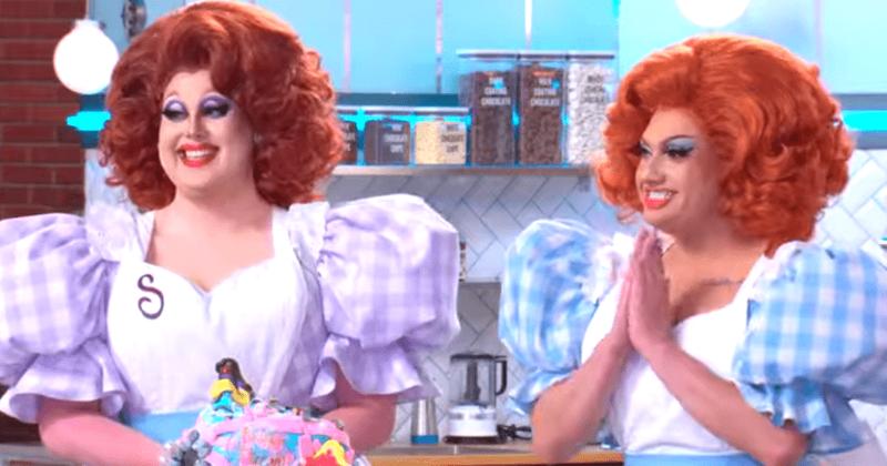"Selma Nilla和Lagoona Bloo是谁? Drag Queens在"" Nailed It!""上赢得10,000美元美味的过山车蛋糕"