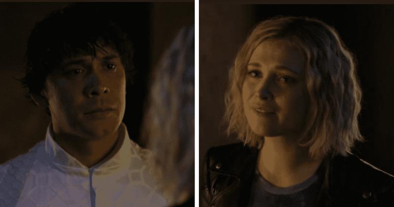 'The 100' Temporada 7 Episódio 12: A cena de Clarke-Bellamy deixa os fãs emocionados, mas eles estão furiosos por ele não ter chorado por Echo