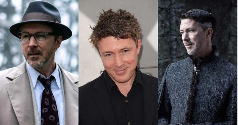 """""""Peaky Blinders"""" žvaigždė Aidanas Gillenas užnugario dešiniojo dešiniojo memo epizodą už nugaros pelno gerbėjus su savo žymiais vaidmenimis televizijoje"""