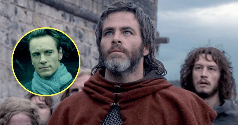 'Заңсыз патша': Крис Пайн өзінің толық фронтальды жалаңаш күйін Майкл Фассбендермен «Ұят» фильмімен салыстырады