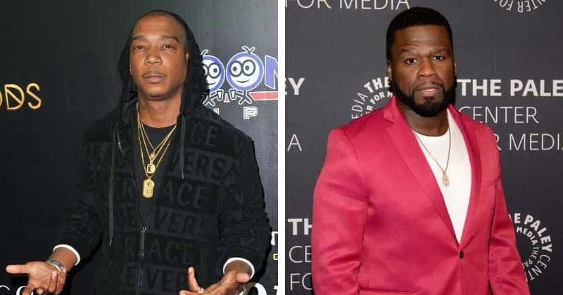 Ja Rule reacende a carne com 50 Cent, o desafia para uma batalha no Instagram Live: 'Vou me comportar'