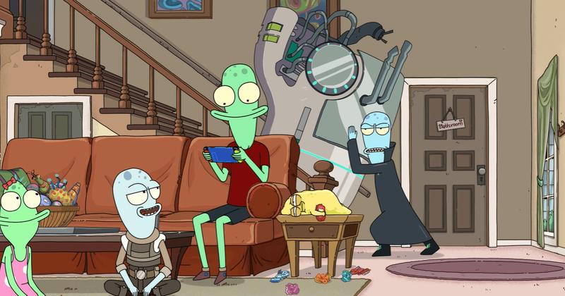 Filma 'Saules opozīti' saņem lielu mīlestību no 'Rick and Morty' faniem, taču Dena Harmona satīra noteikti ir garām