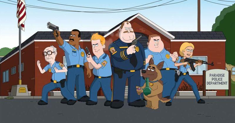'Paradise PD' 2. sezona: Izlaiduma datums, sižets, aktieru sastāvs, reklāmkadri un viss nepieciešamais par pieaugušo animācijas policistu šovu