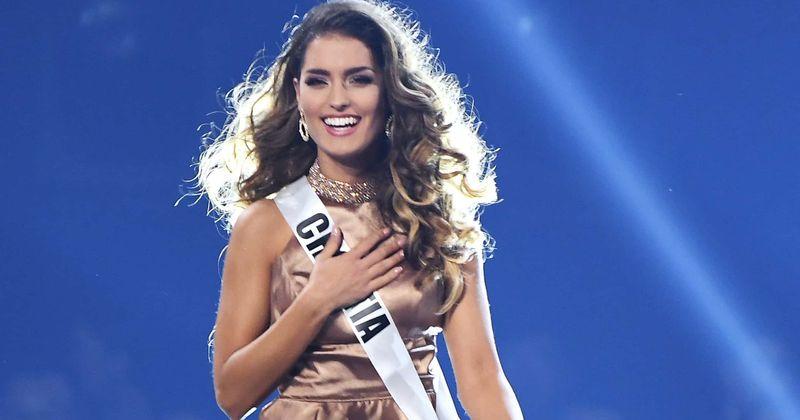 Мисс Универсе 2019: Мисс Хрватске Миа Ркман улази у Топ 20 са својом 'невидљивом круном' и публика то воли