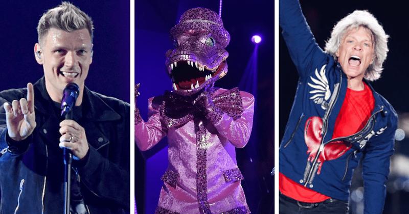 'O cantor mascarado': Jon Bon Jovi ou Nick Carter, quem poderia estar por trás da máscara rosa de crocodilo?