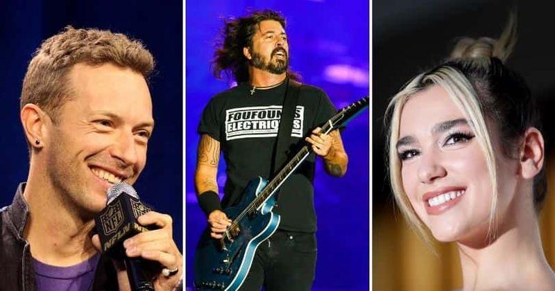 Dua Lipa, Coldplay, 5 Seconds Of Summer e mais para apresentar 'Times Like These' do Foo Fighters para a ajuda do COVID-19
