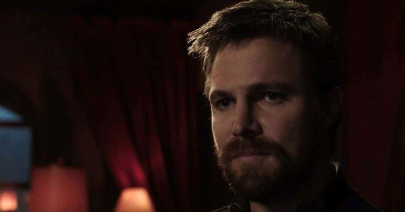 A promoção do episódio 5 da 8ª temporada de 'Arrow' provoca um tributo cheio de ação à 5ª temporada, com Oliver e seus filhos indo para a Rússia