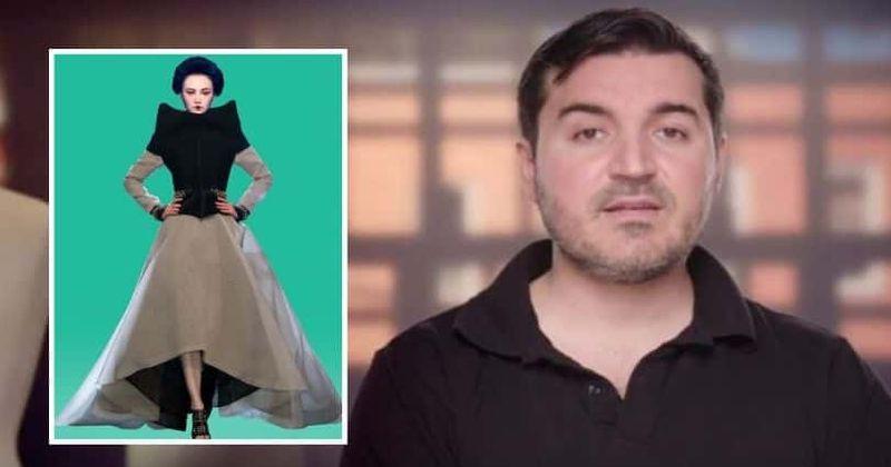 'Project Runway': a vestimenta de vanguarda de Sergio foi 'copiada' e os fãs não estão satisfeitos quando ele entra nas finais