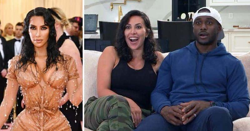 'Celebrity Watch Party': a estranha semelhança entre a esposa de Reggie Bush, Lilit e a ex-Kim Kardashian, enlouquece os fãs