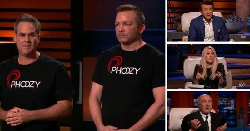 ``鲨鱼坦克''(Shark Tank):在激烈的竞购战中,Phoozy如何从鲨鱼那里获得500,000美元的交易