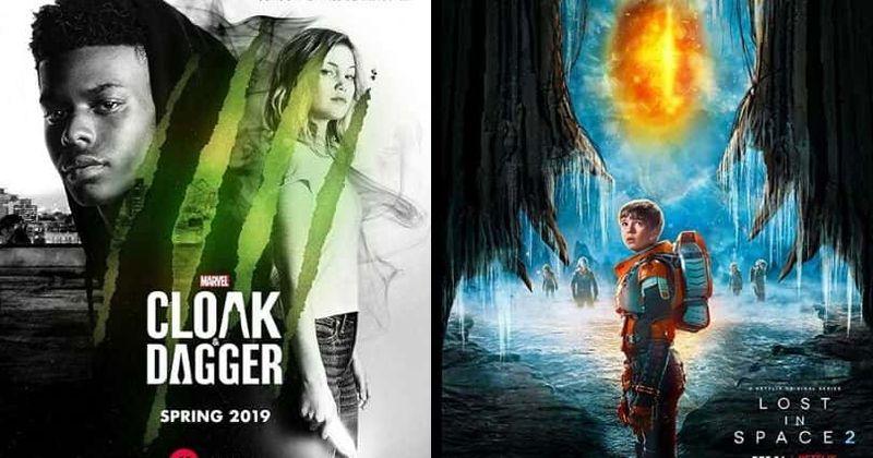 15 heitustu sjónvarpsþættirnir frá 2018: Frá endurræsingu Sci-Fi 'Lost in Space' til 'Cloak & Dagger' frá Marvel