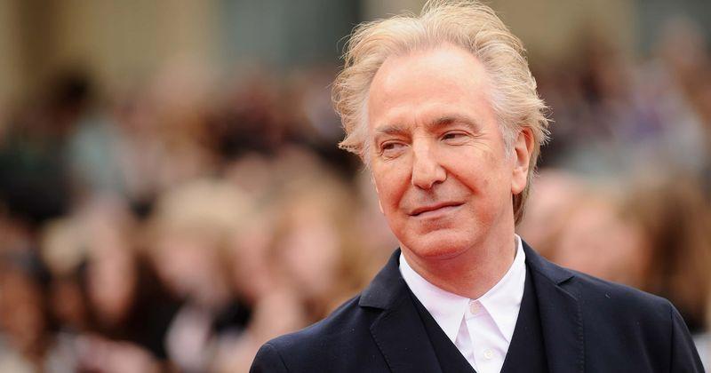 Alan Rickman não gostou do papel de Snape, revela carta do arquivo pessoal do ator