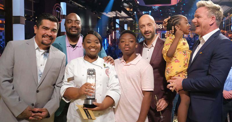 Final da 10ª temporada de 'MasterChef': Dorian Hunter se torna a primeira mulher negra a ganhar o troféu em uma competição emocionante