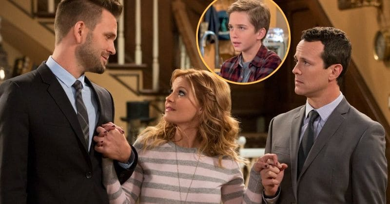 4ª temporada de 'Fuller House': DJ pode ter escolhido Steve, mas seu filho na TV, Michael Campion, ainda é o Team Matt
