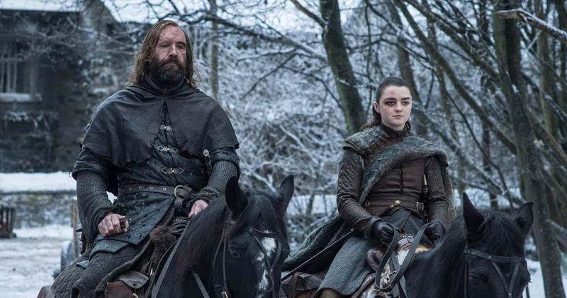 Arya- ն և Hound- ը կարող են միավորել ուժերը «Գահերի խաղը» 8-րդ սեզոնում Սարը սպանելու համար