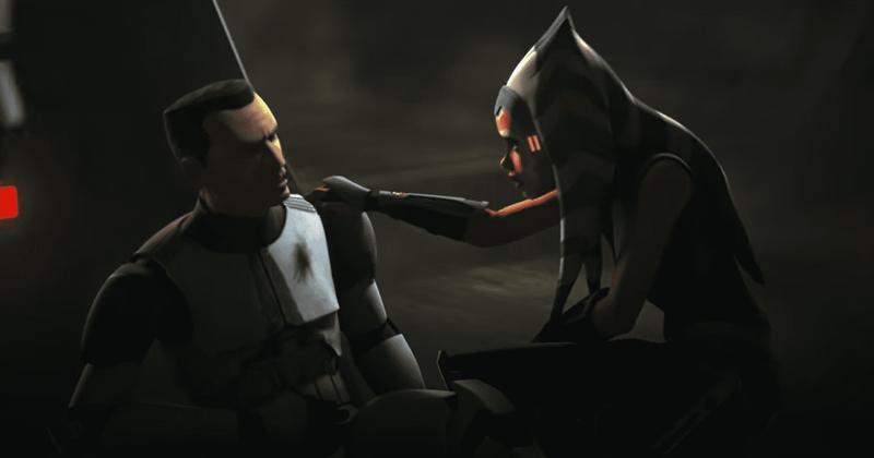 Avance del episodio 10 de la temporada 7 de Star Wars: The Clone Wars: Ahsoka se enfrenta cara a cara con Darth Maul
