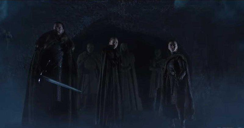 Antevisão do episódio 3 da 8ª temporada de 'Game of Thrones': As criptas de Winterfell são realmente um lugar seguro para estar com o exército do Rei da Noite por perto?