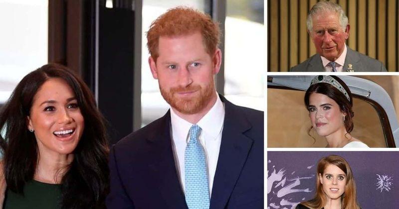 Prinča Filipa bēres: Harijs sarunās ar Čārlzu, Beatrisi un Eiženiju plāno Lielbritānijas ceļojumu, kad Megana paliek ASV