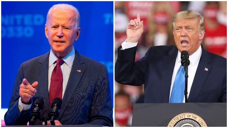 Quem é mais velho: Donald Trump ou Joe Biden?