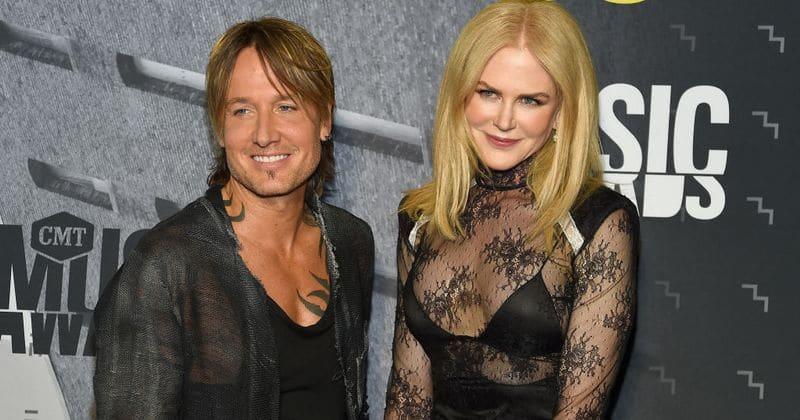 Aww-dorable! Nicole Kidman toca com Keith Urban em sua música 'The Fighter'