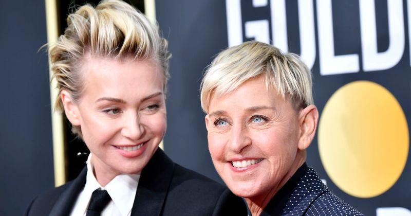 A esposa de Ellen, Portia de Rossi, havia se casado com um homem para receber o green card, mas ele fugiu com a ex-mulher de seu irmão