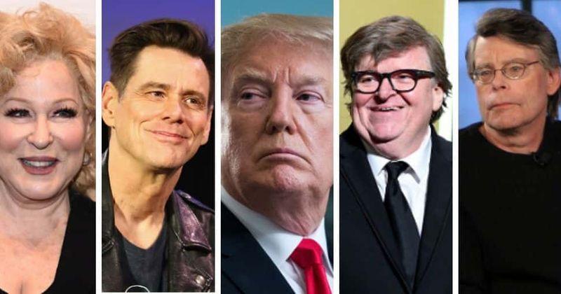 Jim Carrey, Michael Moore, Bette Midler ... Hollywoodi heliseb uusaastal ja lööb Trumpi: 'Löö oma tagumikku 2020. aastal'