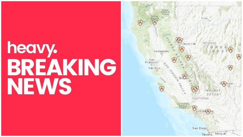 Léarscáil Dóiteáin California: Track Fires Near Me Today