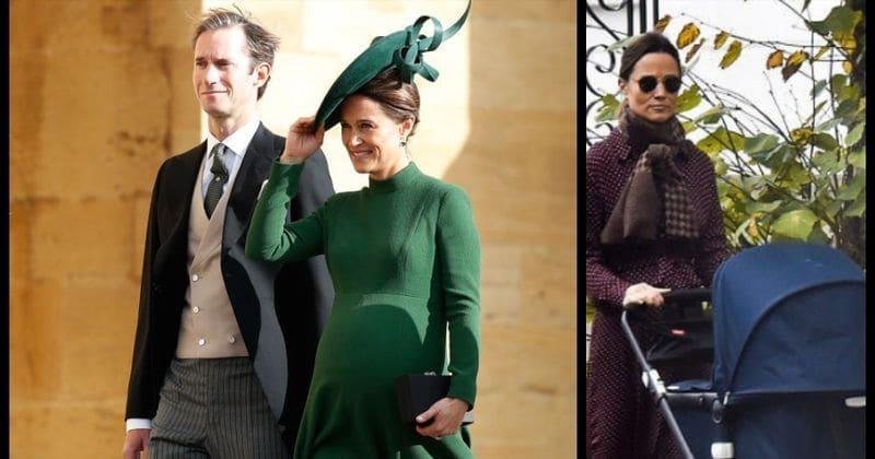 Pippa Middleton nomeia o filho Arthur Michael William Matthews como um tributo ao pai e ao irmão mais novo do marido