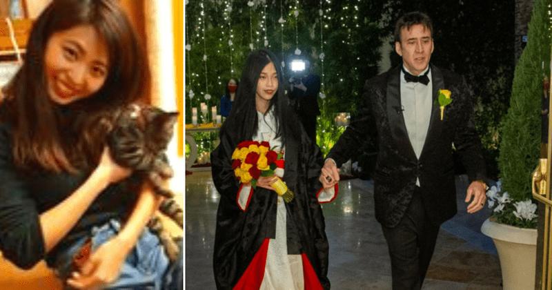 Wer ist Riko Shibata? Treffen Sie Nicolas Cages fünfte Frau, 31 Jahre jünger als er und 4 Jahre jünger als sein Sohn