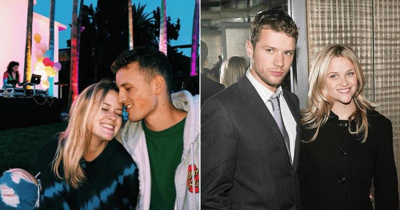 A filha de Reese Witherspoon, Ava, está namorando um homem que se parece com o pai dela, Ryan Phillippe