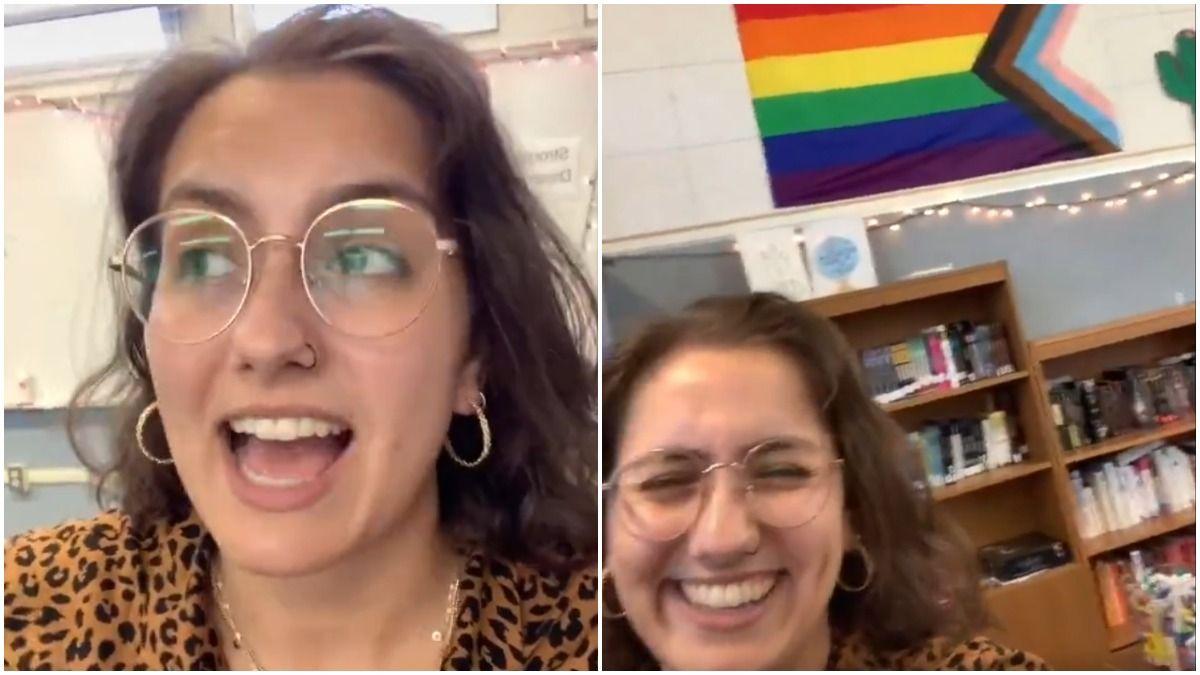 Kristin Pitzen: Læreren foreslår, at elever siger løfte om stolthedsflag