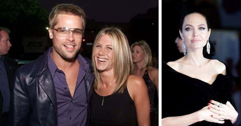 """Angelina Jolie er að sögn að hitta vin Brad Pitt sem """"brenglaða hefnd"""" innan um rómantískar sögusagnir Jennifer Aniston"""