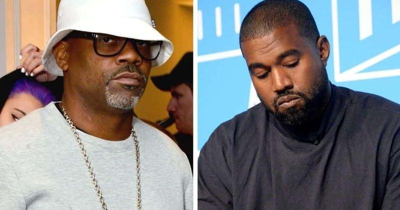 """Hver er Damon Dash? Forstjóri Roc-A-Fella kemur ekki í veg fyrir að Kanye West gangi í raðir þar sem rappari er """"kaldur og ánægður"""""""