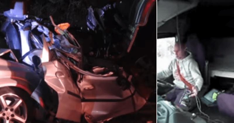 Մայր, երեք երեխաներ սպանած սարսափելի վթարի տեսանյութում երեւում է, թե ինչպես է բեռնատար վարորդը հարվածի պահին օգտագործում իր հեռախոսը