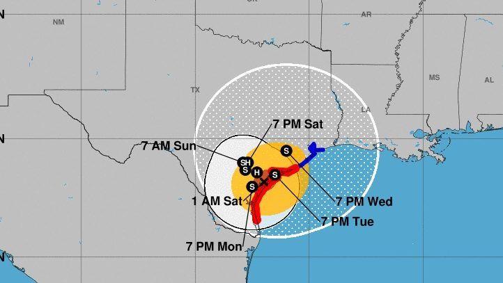 Korpuskristi, Teksasas viesuļvētra Hārvijs: Landfall fotogrāfijas un video