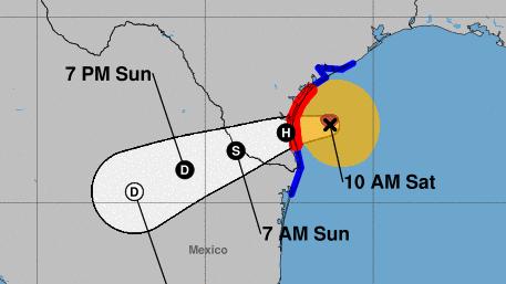 Furacão Hanna: assista a webcams e transmissões ao vivo enquanto a tempestade atinge a terra