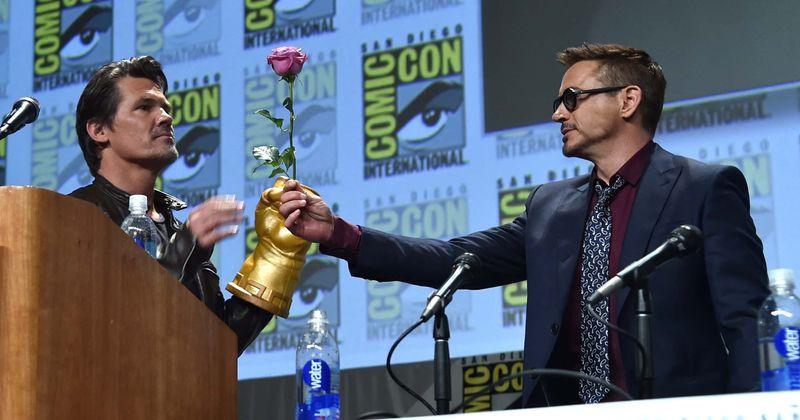 """Roberts Downey Jr dalās ar video """"Avengers: Endgame"""" dalībniekiem, kuri vēlas, lai Džošs Brolins dzimšanas dienā"""