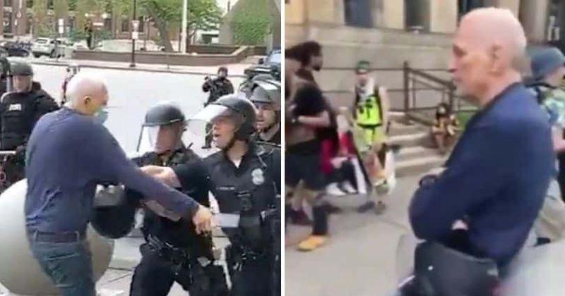Escândalo Buffalo PD: Martin Gugino, de 75 anos, veio protestar por 'diversão', o que aconteceu antes de ser empurrado?