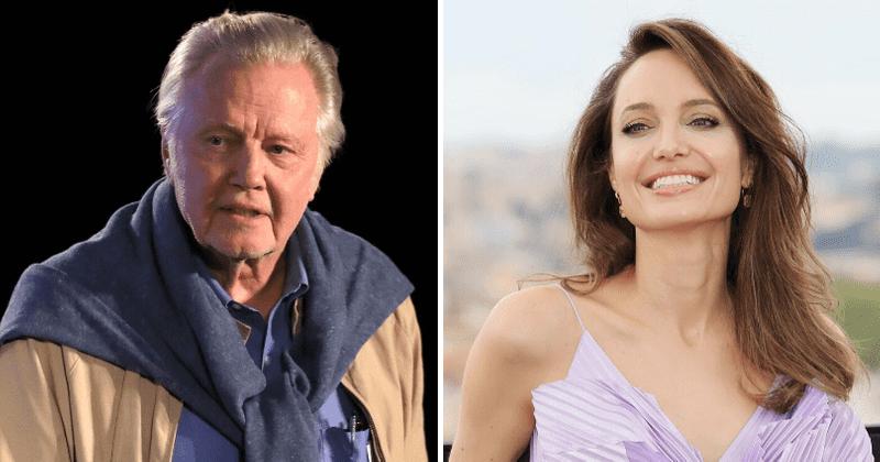 Jon Voight roser datteren Angelina Jolie for å være en 'flott' mor til barna sine: 'Hun er alltid involvert i dem'