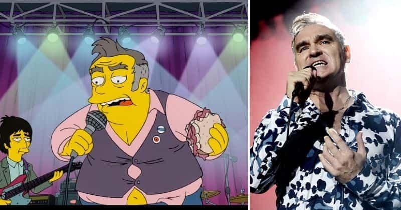 Morrissey é racista? Singer critica 'Os Simpsons' por uma paródia 'dolorosa' de um homem acima do peso que come carne