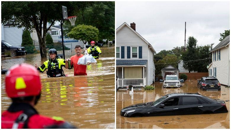 Ukupne količine oborina u New Jerseyju: Henri uzrokuje poplave i evakuacije