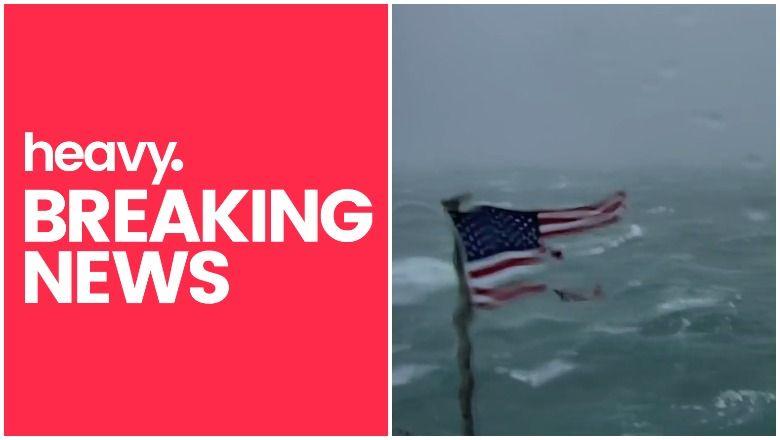 """Uragano """"Florence"""" tiesioginė transliacija: žiūrėkite """"Frying Pan Ocean"""" ir kitas """"Carolina Cams"""""""