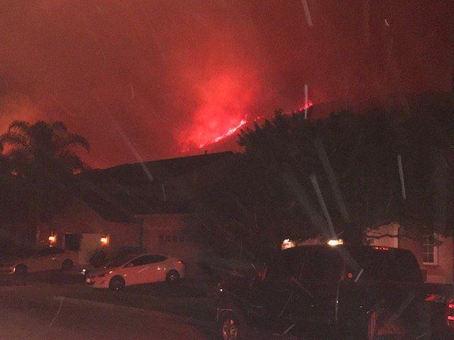 Tenaja Fire em Murrieta, Califórnia: mapas, evacuações e fotos