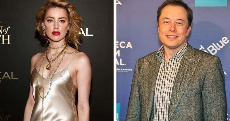 O olho roxo de Elon Musk em fotos antigas com Amber Heard deixa muitos se perguntando se ela o abusou fisicamente