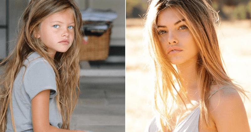 A modelo francesa Thylane Blondeau consegue o título de 'Garota mais bonita do mundo' pela segunda vez, depois de ser coroada como uma criança há uma década
